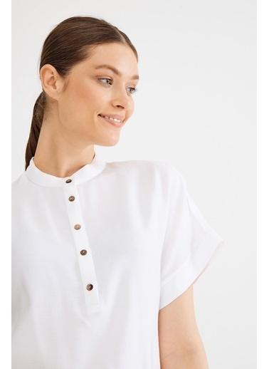 Love My Body Tunik Beyaz